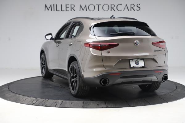 New 2019 Alfa Romeo Stelvio Q4 for sale Sold at Bugatti of Greenwich in Greenwich CT 06830 5