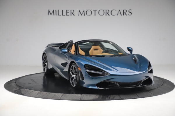 New 2020 McLaren 720S Spider Luxury for sale $380,835 at Bugatti of Greenwich in Greenwich CT 06830 10