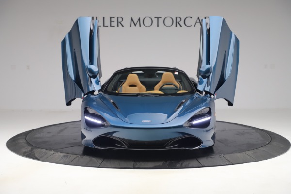 New 2020 McLaren 720S Spider Luxury for sale $380,835 at Bugatti of Greenwich in Greenwich CT 06830 12