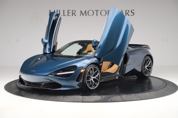 New 2020 McLaren 720S Spider Luxury for sale $380,835 at Bugatti of Greenwich in Greenwich CT 06830 13