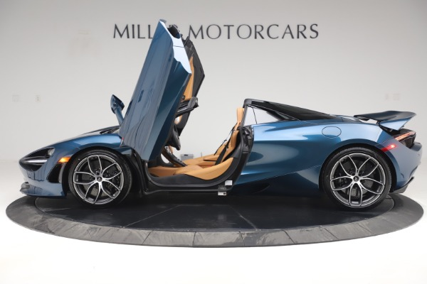 New 2020 McLaren 720S Spider Luxury for sale $380,835 at Bugatti of Greenwich in Greenwich CT 06830 14