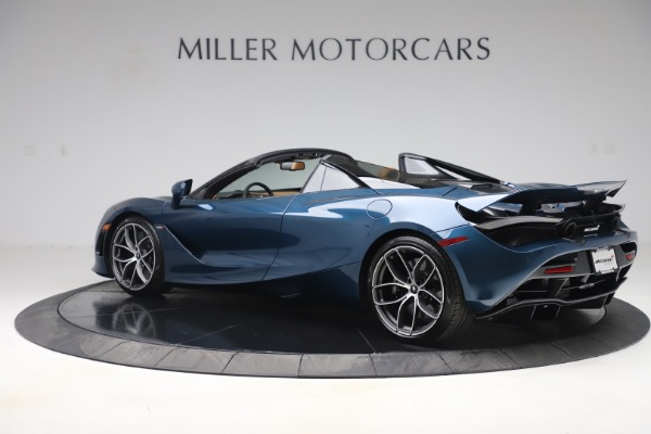 New 2020 McLaren 720S Spider Luxury for sale $380,835 at Bugatti of Greenwich in Greenwich CT 06830 3