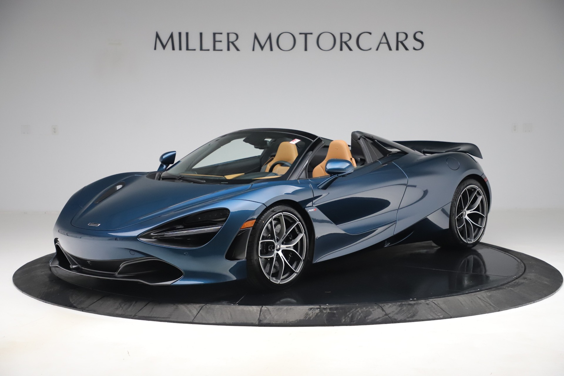 New 2020 McLaren 720S Spider Luxury for sale $380,835 at Bugatti of Greenwich in Greenwich CT 06830 1