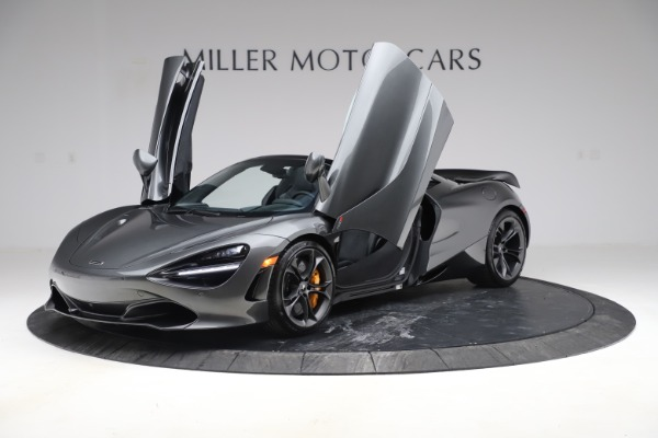 New 2020 McLaren 720S Spider Convertible for sale $332,570 at Bugatti of Greenwich in Greenwich CT 06830 10