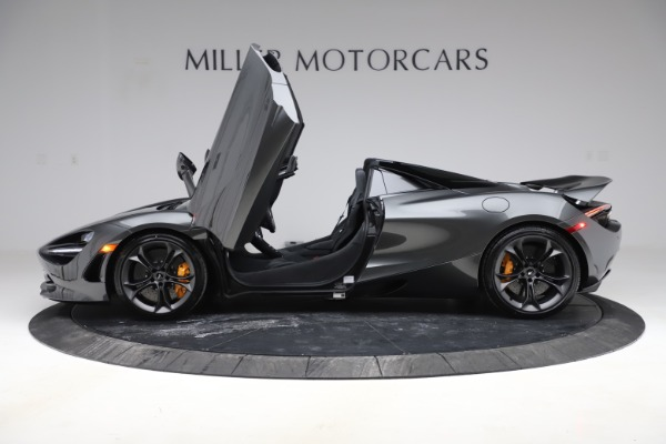 New 2020 McLaren 720S Spider Convertible for sale $332,570 at Bugatti of Greenwich in Greenwich CT 06830 11