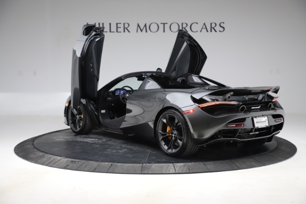 New 2020 McLaren 720S Spider Convertible for sale $332,570 at Bugatti of Greenwich in Greenwich CT 06830 12