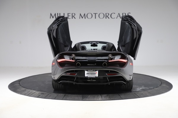 New 2020 McLaren 720S Spider Convertible for sale $332,570 at Bugatti of Greenwich in Greenwich CT 06830 13
