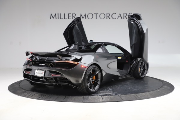 New 2020 McLaren 720S Spider Convertible for sale $332,570 at Bugatti of Greenwich in Greenwich CT 06830 14