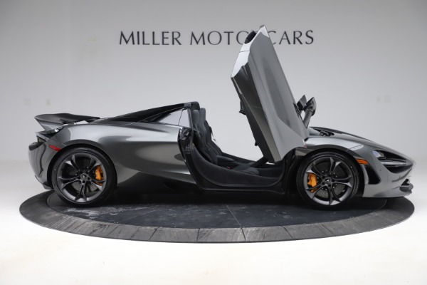 New 2020 McLaren 720S Spider Convertible for sale $332,570 at Bugatti of Greenwich in Greenwich CT 06830 15