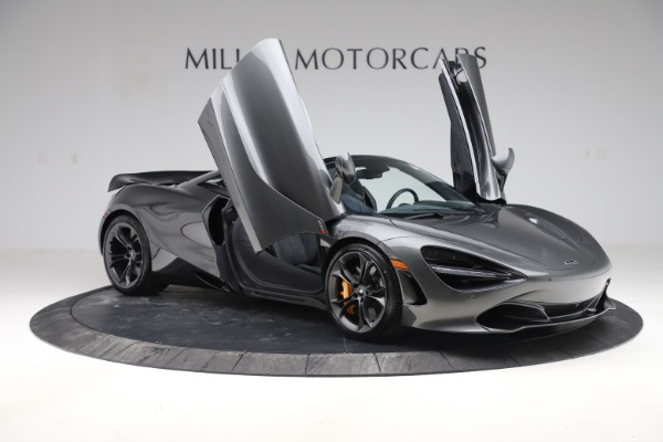 New 2020 McLaren 720S Spider Convertible for sale $332,570 at Bugatti of Greenwich in Greenwich CT 06830 16