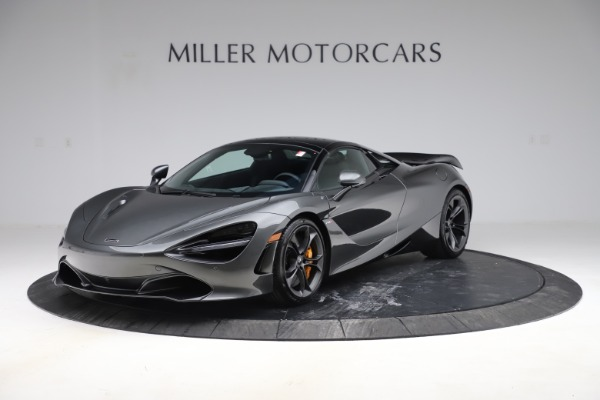 New 2020 McLaren 720S Spider Convertible for sale $332,570 at Bugatti of Greenwich in Greenwich CT 06830 18