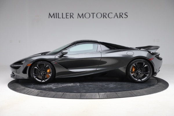 New 2020 McLaren 720S Spider Convertible for sale $332,570 at Bugatti of Greenwich in Greenwich CT 06830 19