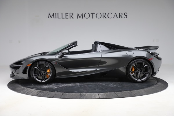 New 2020 McLaren 720S Spider Convertible for sale $332,570 at Bugatti of Greenwich in Greenwich CT 06830 2
