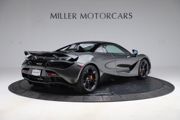New 2020 McLaren 720S Spider Convertible for sale $332,570 at Bugatti of Greenwich in Greenwich CT 06830 22