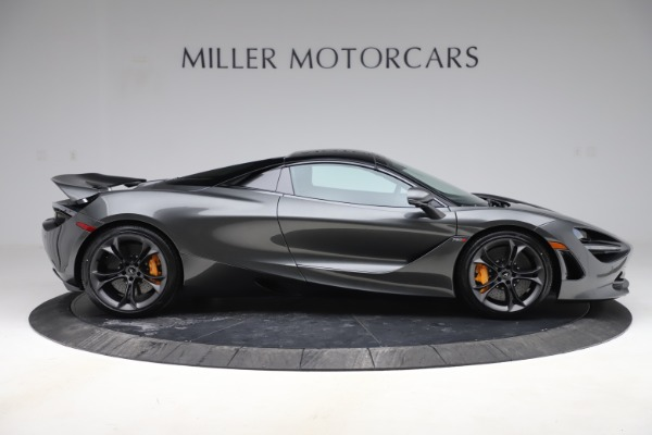 New 2020 McLaren 720S Spider Convertible for sale $332,570 at Bugatti of Greenwich in Greenwich CT 06830 23