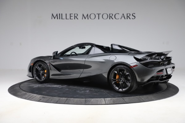 New 2020 McLaren 720S Spider Convertible for sale $332,570 at Bugatti of Greenwich in Greenwich CT 06830 3