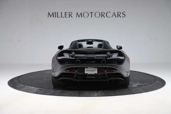 New 2020 McLaren 720S Spider Convertible for sale $332,570 at Bugatti of Greenwich in Greenwich CT 06830 4