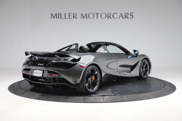 New 2020 McLaren 720S Spider Convertible for sale $332,570 at Bugatti of Greenwich in Greenwich CT 06830 5