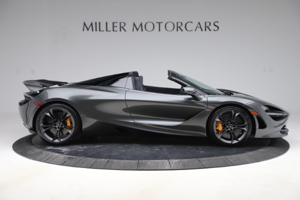New 2020 McLaren 720S Spider Convertible for sale $332,570 at Bugatti of Greenwich in Greenwich CT 06830 6