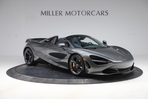 New 2020 McLaren 720S Spider Convertible for sale $332,570 at Bugatti of Greenwich in Greenwich CT 06830 7
