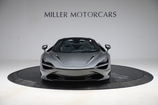 New 2020 McLaren 720S Spider Convertible for sale $332,570 at Bugatti of Greenwich in Greenwich CT 06830 8