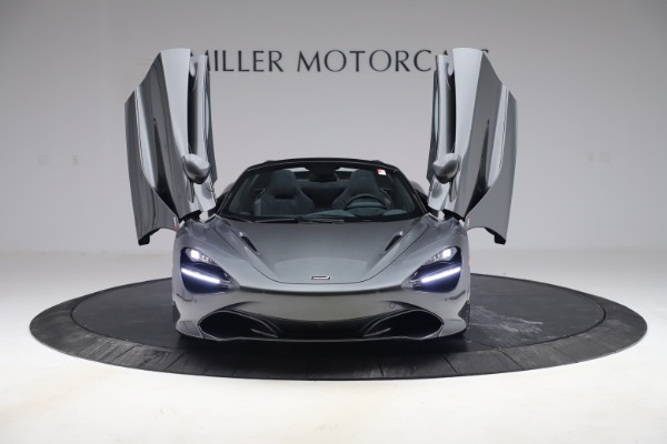 New 2020 McLaren 720S Spider Convertible for sale $332,570 at Bugatti of Greenwich in Greenwich CT 06830 9