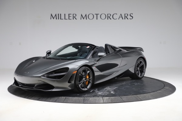 New 2020 McLaren 720S Spider Convertible for sale $332,570 at Bugatti of Greenwich in Greenwich CT 06830 1