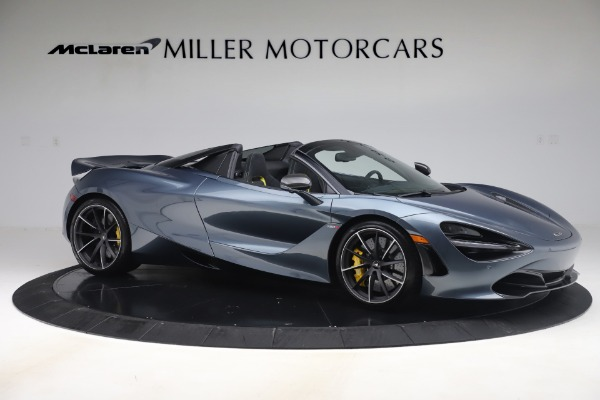 Used 2020 McLaren 720S Spider Convertible for sale Call for price at Bugatti of Greenwich in Greenwich CT 06830 10