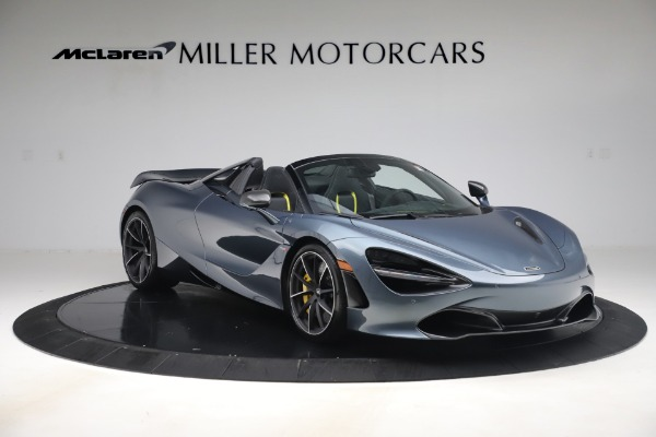 Used 2020 McLaren 720S Spider Convertible for sale Call for price at Bugatti of Greenwich in Greenwich CT 06830 11