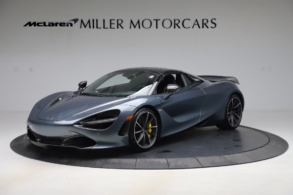 Used 2020 McLaren 720S Spider Convertible for sale Call for price at Bugatti of Greenwich in Greenwich CT 06830 15