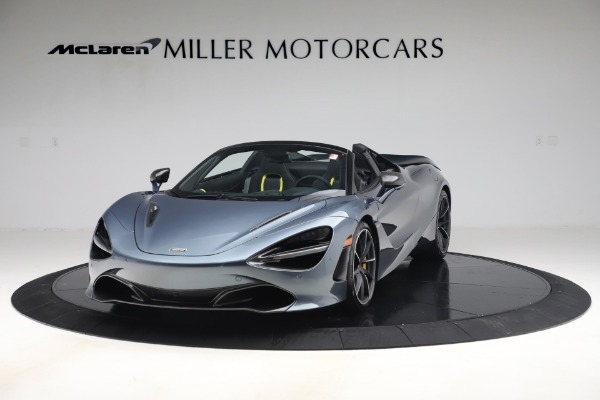 Used 2020 McLaren 720S Spider Convertible for sale Call for price at Bugatti of Greenwich in Greenwich CT 06830 2