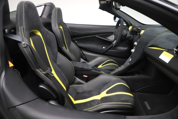 Used 2020 McLaren 720S Spider Convertible for sale Call for price at Bugatti of Greenwich in Greenwich CT 06830 25
