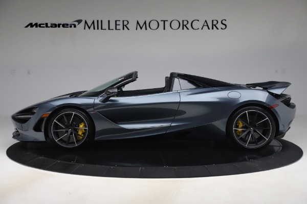 Used 2020 McLaren 720S Spider Convertible for sale Call for price at Bugatti of Greenwich in Greenwich CT 06830 3