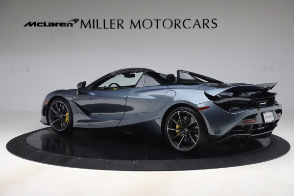 Used 2020 McLaren 720S Spider Convertible for sale Call for price at Bugatti of Greenwich in Greenwich CT 06830 4