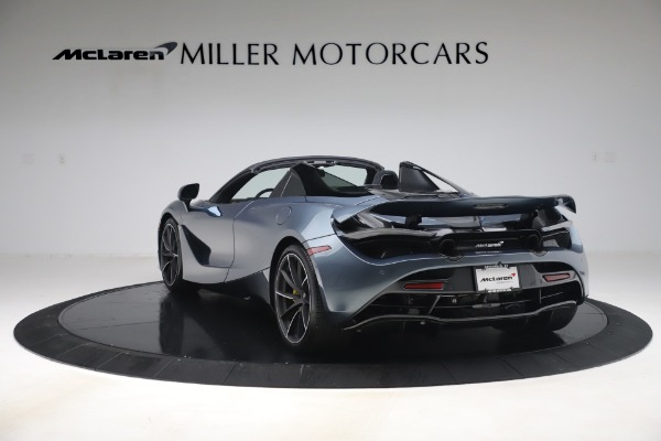 Used 2020 McLaren 720S Spider Convertible for sale Call for price at Bugatti of Greenwich in Greenwich CT 06830 5