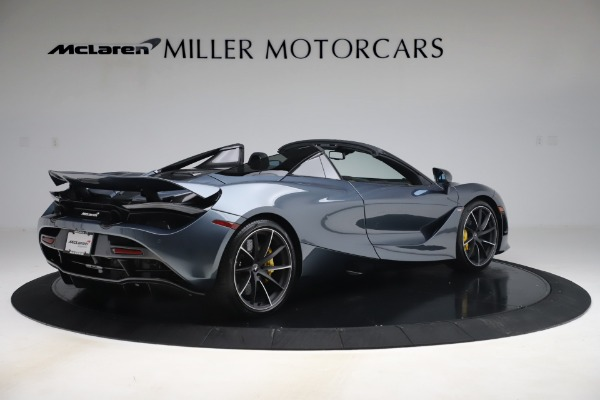Used 2020 McLaren 720S Spider Convertible for sale Call for price at Bugatti of Greenwich in Greenwich CT 06830 8
