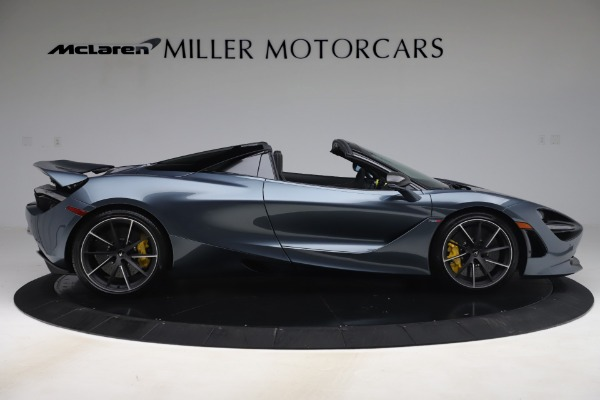 Used 2020 McLaren 720S Spider Convertible for sale Call for price at Bugatti of Greenwich in Greenwich CT 06830 9