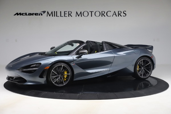 Used 2020 McLaren 720S Spider Convertible for sale Call for price at Bugatti of Greenwich in Greenwich CT 06830 1