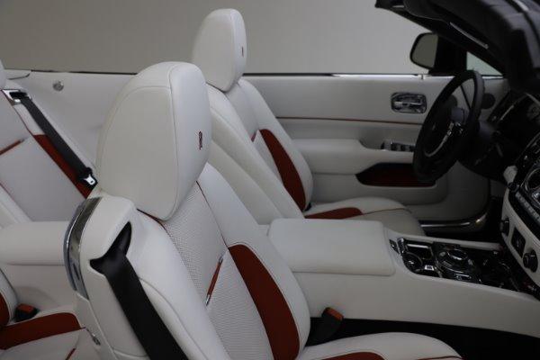 Used 2016 Rolls-Royce Dawn for sale Sold at Bugatti of Greenwich in Greenwich CT 06830 19