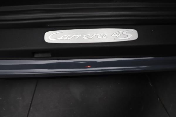 Used 2018 Porsche 911 Carrera 4S for sale $109,900 at Bugatti of Greenwich in Greenwich CT 06830 24