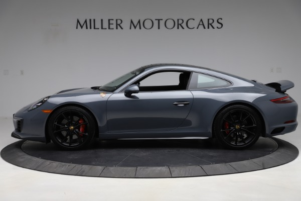 Used 2018 Porsche 911 Carrera 4S for sale $109,900 at Bugatti of Greenwich in Greenwich CT 06830 3