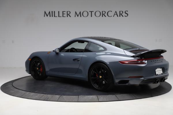 Used 2018 Porsche 911 Carrera 4S for sale $109,900 at Bugatti of Greenwich in Greenwich CT 06830 4
