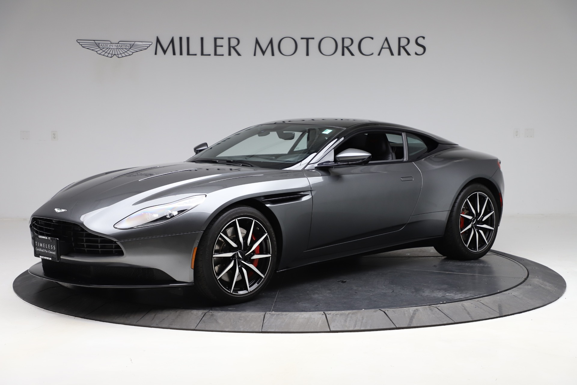 Used 2017 Aston Martin DB11 V12 for sale $141,900 at Bugatti of Greenwich in Greenwich CT 06830 1