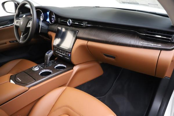 New 2019 Maserati Quattroporte S Q4 for sale $121,065 at Bugatti of Greenwich in Greenwich CT 06830 22