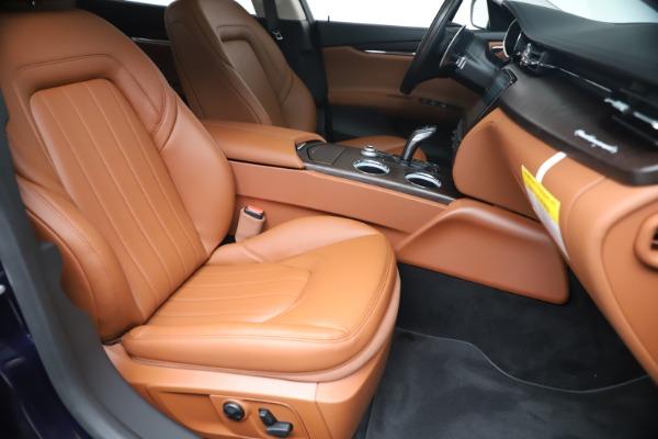 New 2019 Maserati Quattroporte S Q4 for sale $121,065 at Bugatti of Greenwich in Greenwich CT 06830 24