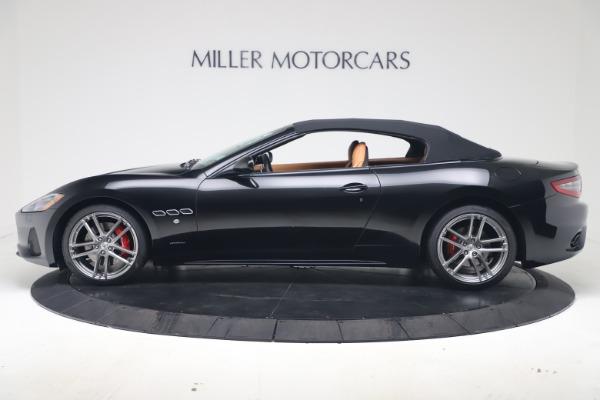 New 2019 Maserati GranTurismo Sport Convertible for sale $161,970 at Bugatti of Greenwich in Greenwich CT 06830 14