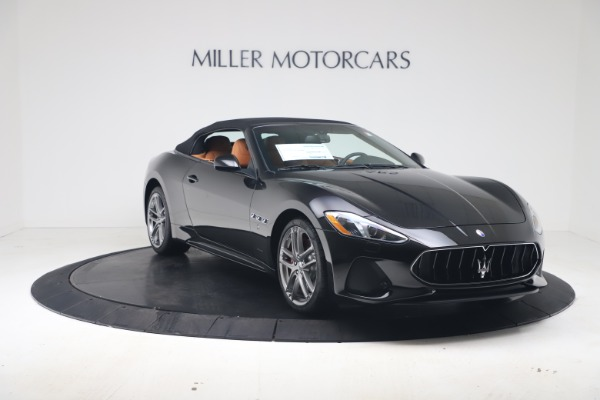 New 2019 Maserati GranTurismo Sport Convertible for sale $161,970 at Bugatti of Greenwich in Greenwich CT 06830 18