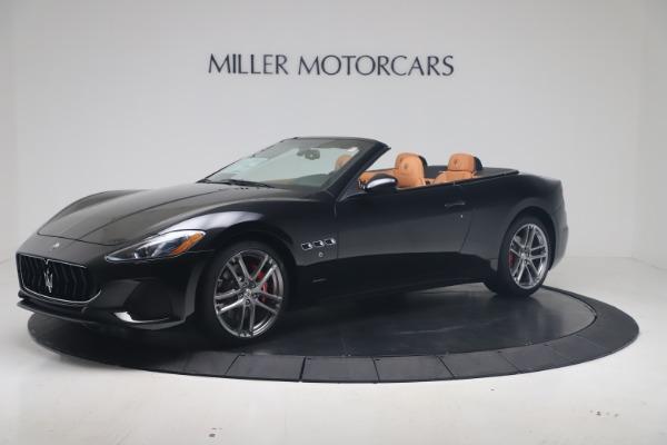 New 2019 Maserati GranTurismo Sport Convertible for sale $161,970 at Bugatti of Greenwich in Greenwich CT 06830 2