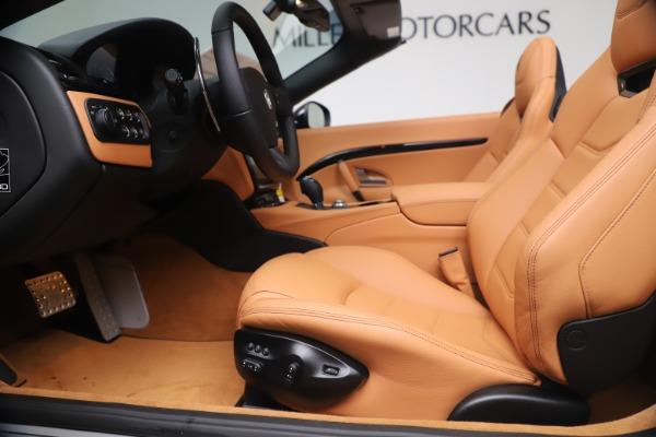 New 2019 Maserati GranTurismo Sport Convertible for sale $161,970 at Bugatti of Greenwich in Greenwich CT 06830 20