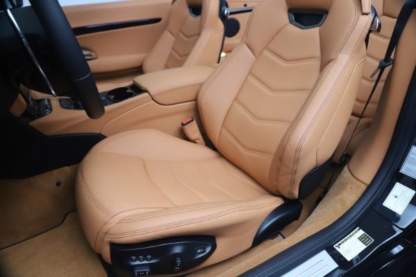 New 2019 Maserati GranTurismo Sport Convertible for sale $161,970 at Bugatti of Greenwich in Greenwich CT 06830 21